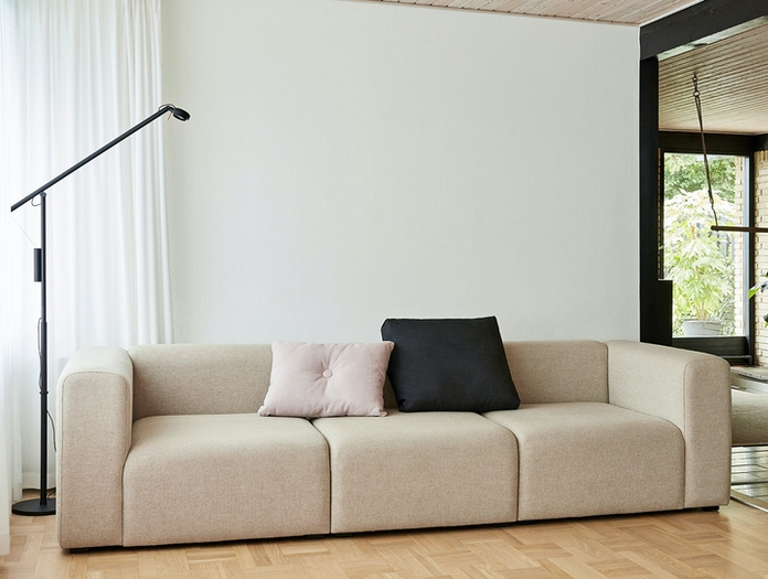 Hay Mags Sofa 3 Seater Combinatioon 1 Uph Hallingdal 0200 Fifty Fifty Floor Lamp