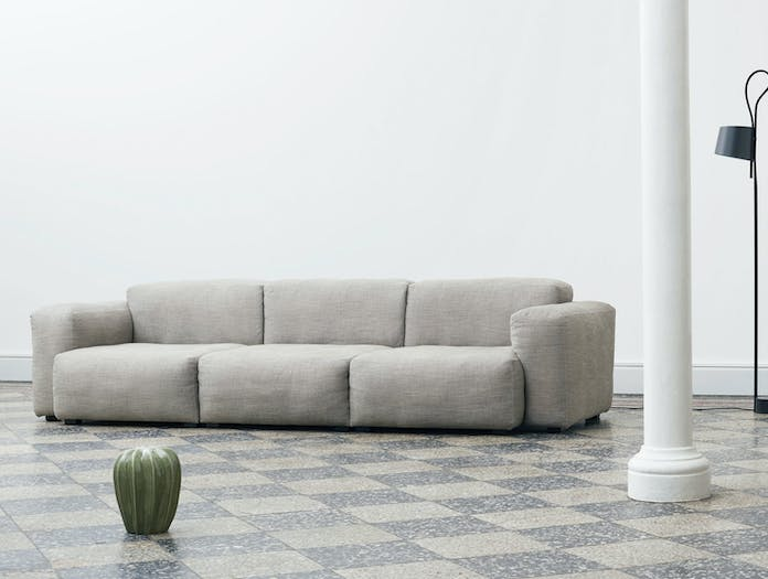 Hay Mags Soft Low 3 seater combination 1 Ruskin 33