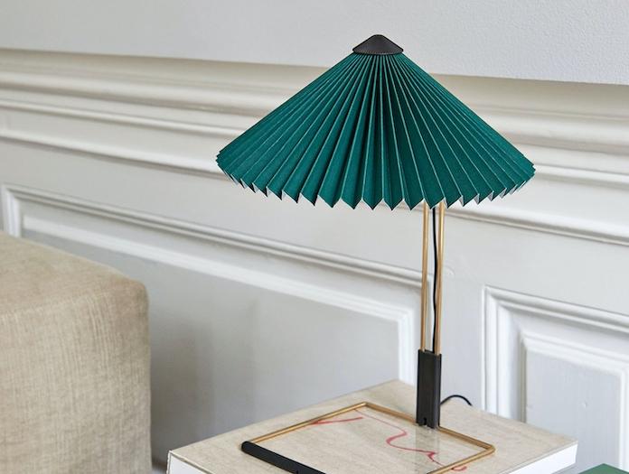 Hay Matin Table Lamp Green Inga Sempe