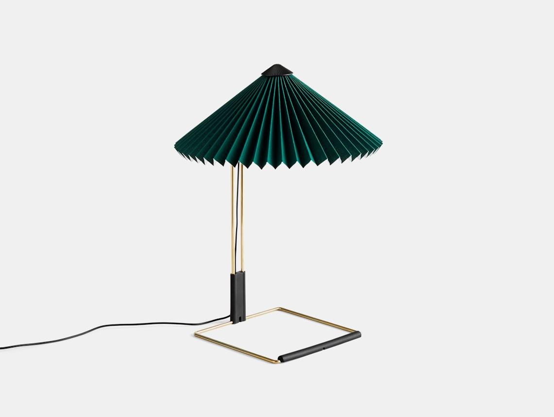 Hay Matin Table Lamp S Green Inga Sempe