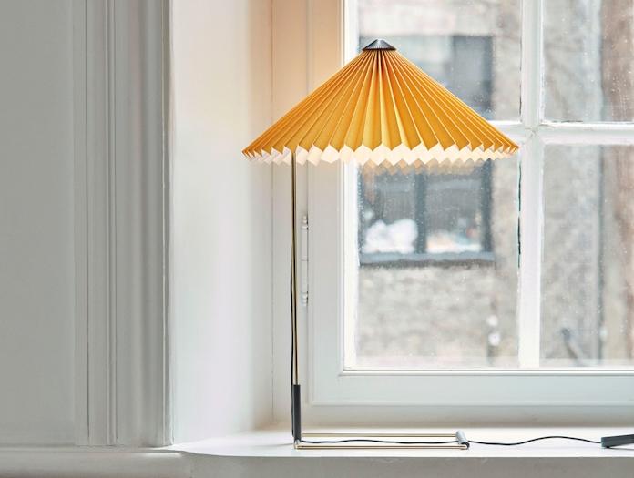 Hay Matin Table Lamp Yellow 3 Inga Sempe