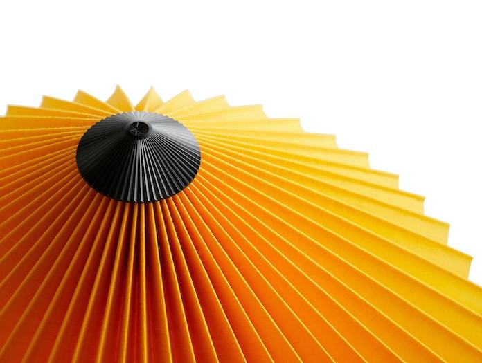Hay Matin Table Lamp shade detail Inga Sempe
