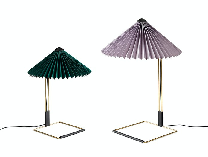 Hay Matin Table Lamps S Green L Lavender Inga Sempe
