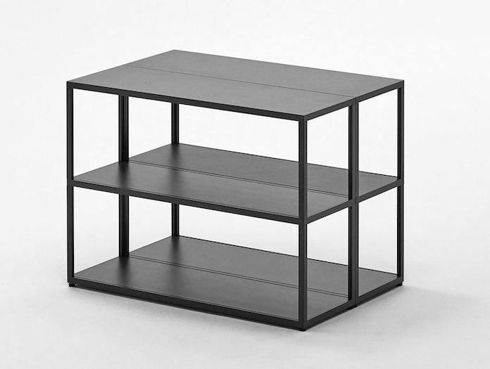 Hay New Order Shelving System Charcoal 2