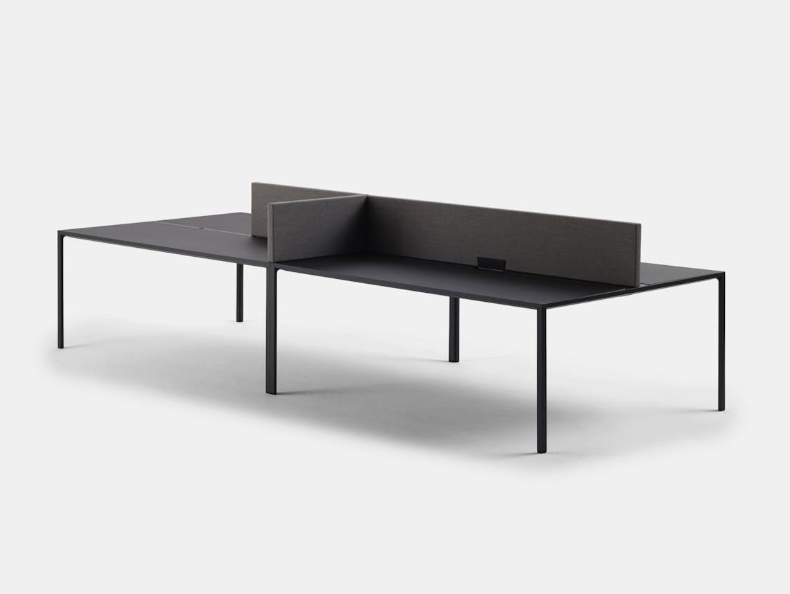 Hay New Order Table System Config 3 L 300 x D 150 x H 107 3 cm Stefan Diez