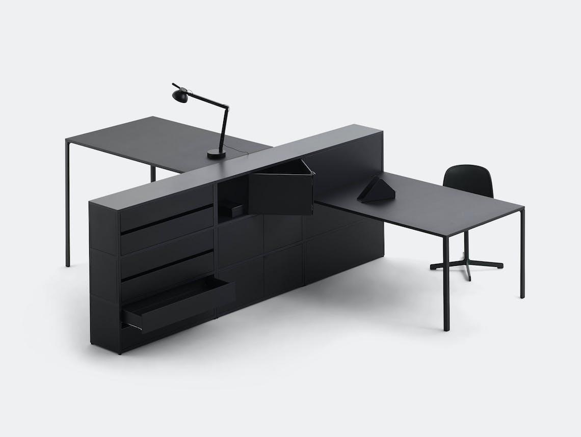 Hay New Order Table System Config 4 L 300 x D 334 x H 109 6 cm Stefan Diez