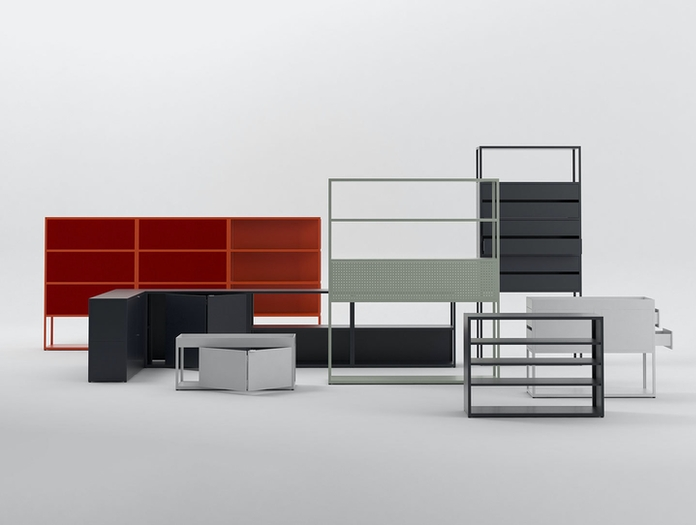 Hay New Order shelving systems