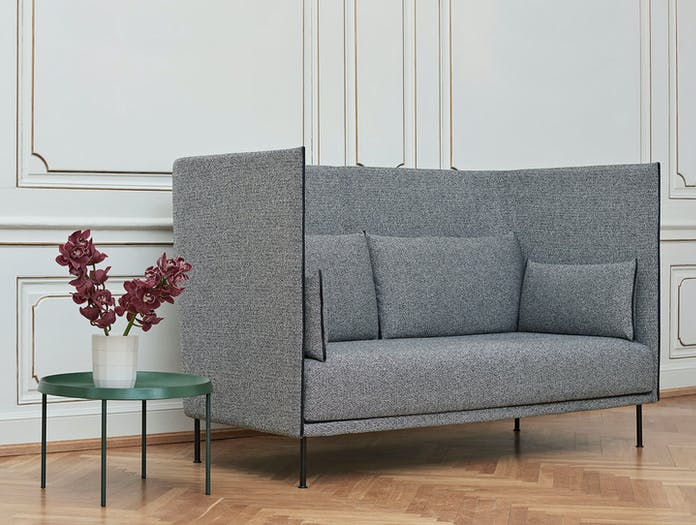 Hay Silhouette Sofa 2 Seater High Back Uph Olavi