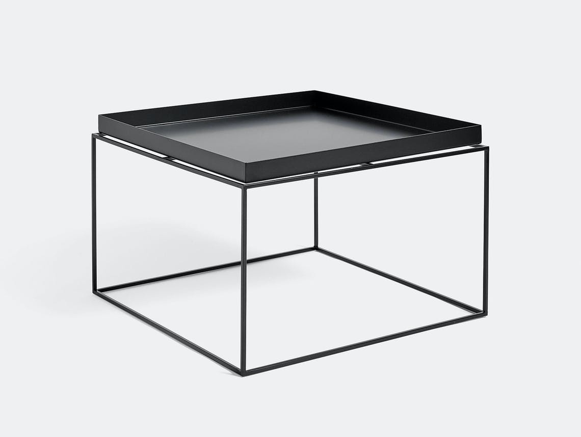 Hay Tray Table coffee table black