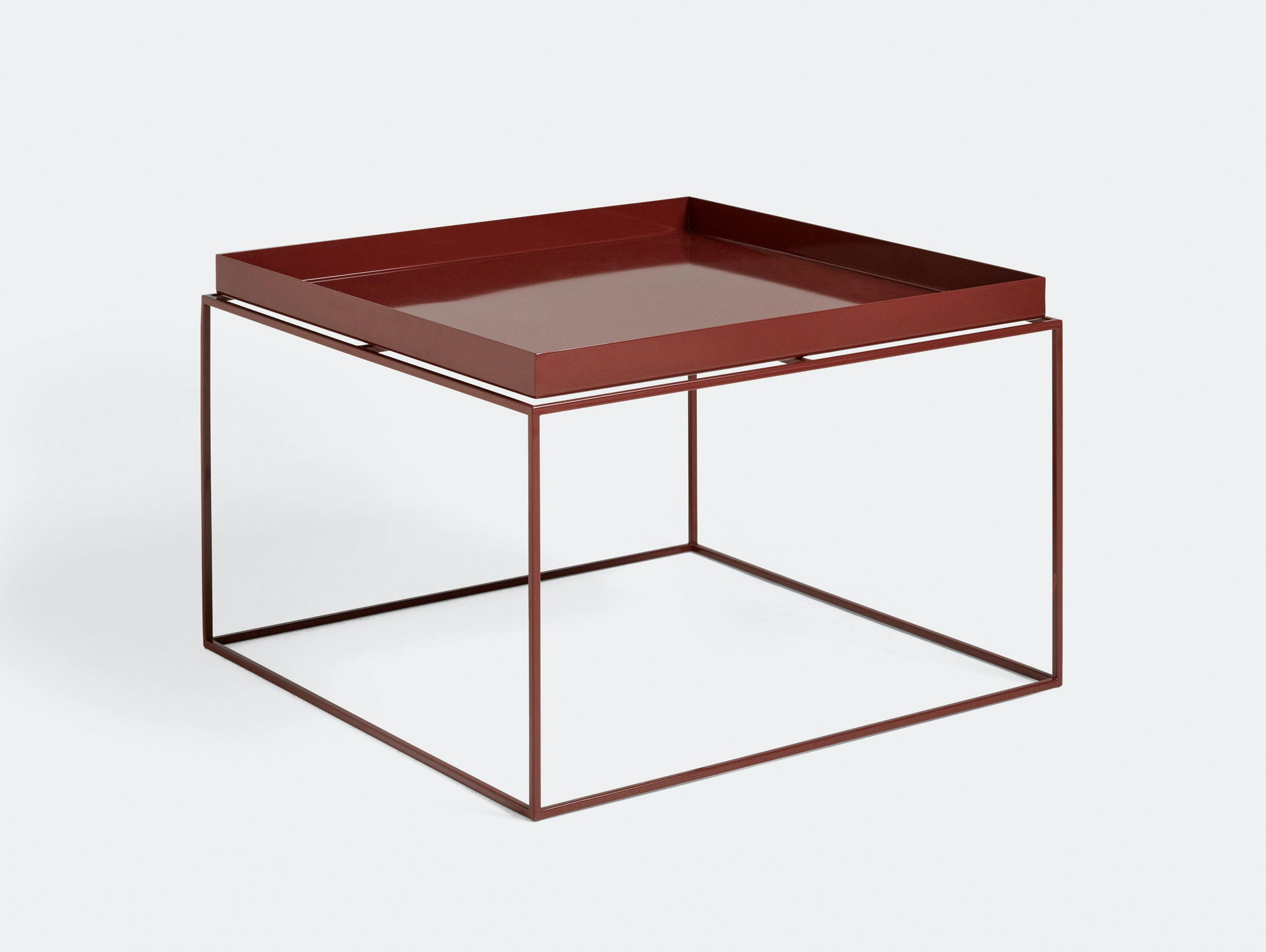 Hay Tray Table coffee table chocolate