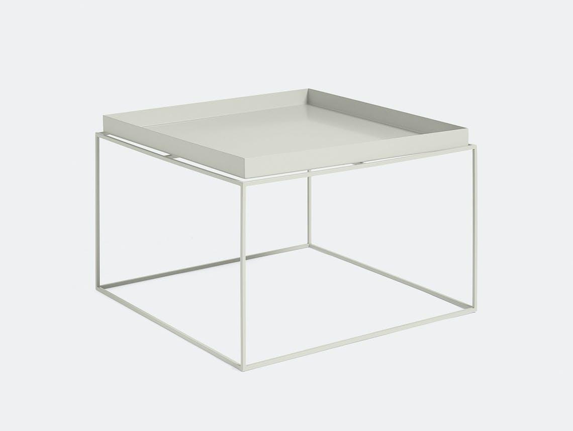 Hay Tray Table coffee table warm grey