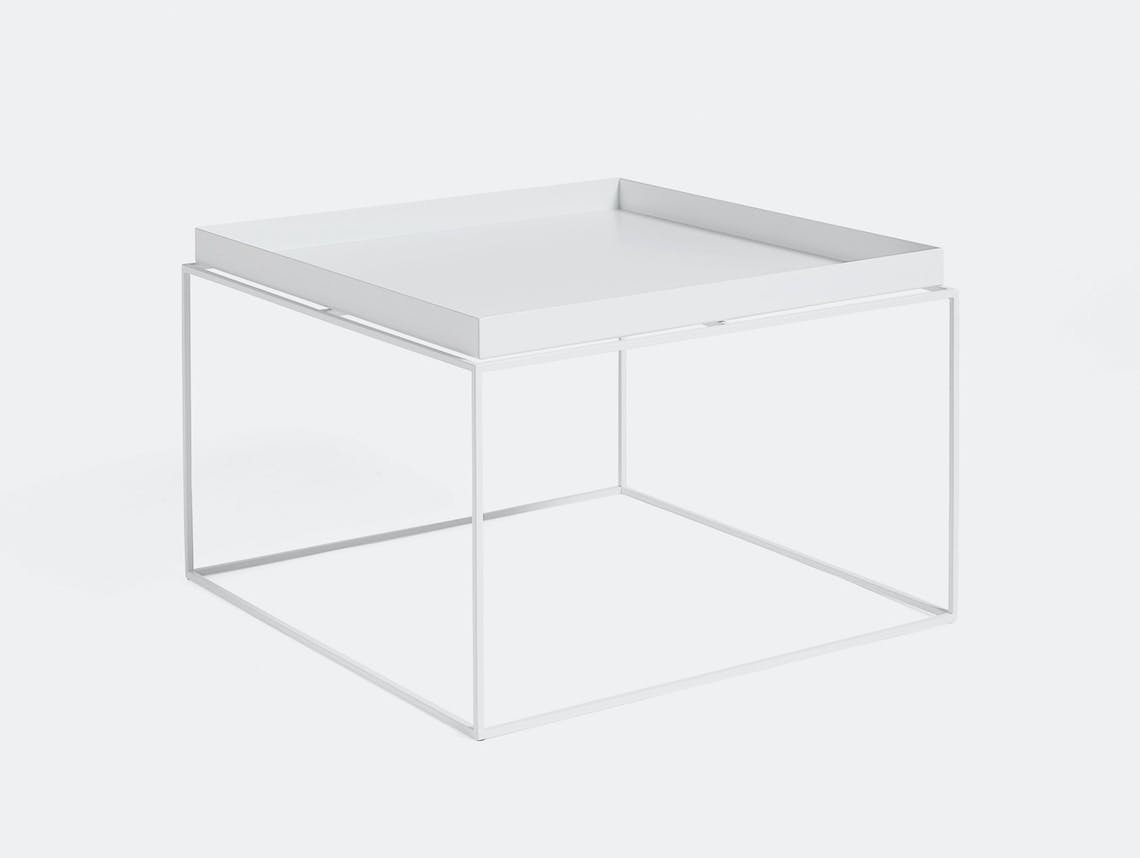 Hay Tray Table coffee table white