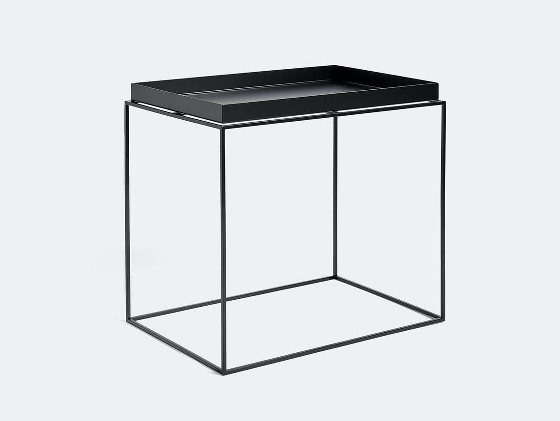Hay Tray Table large black