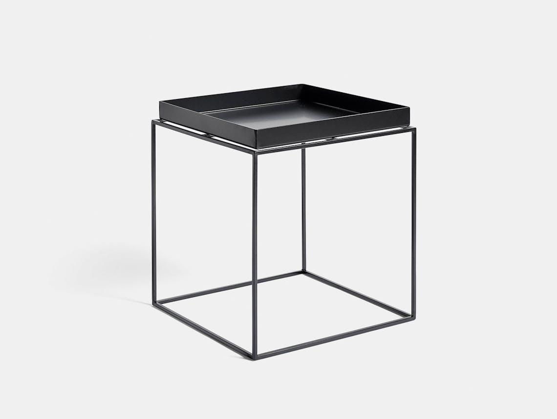Hay Tray Table medium black