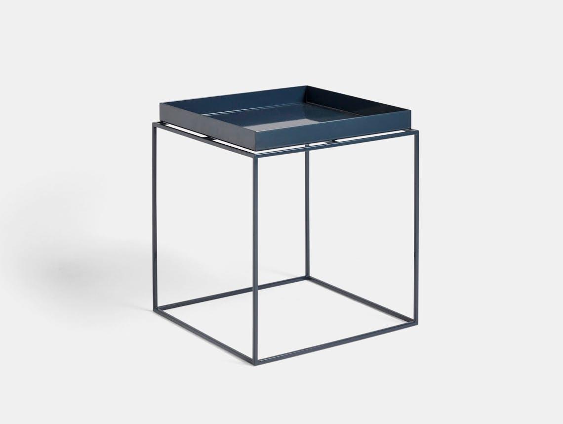 Hay Tray Table medium deep blue