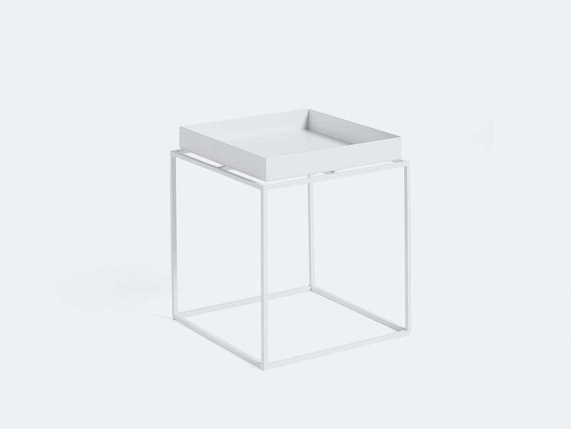 Hay Tray Table small white