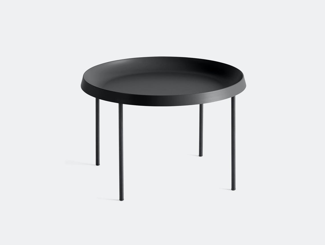 Hay Tulou Coffee Table Black Gam Fratesi