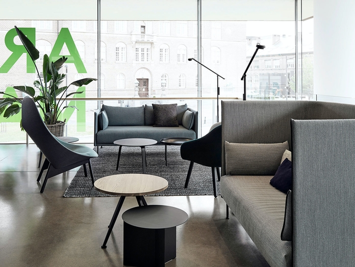 Hay Uchiwa Lounge Chair Silhouette Sofa