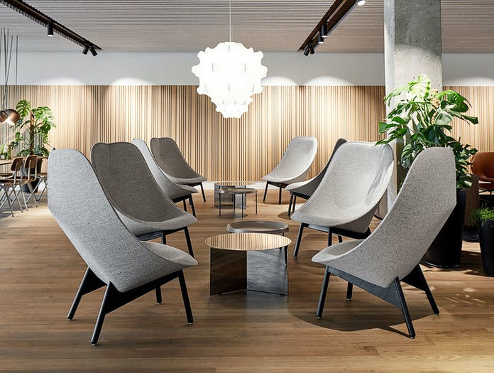 Hay Uchiwa Lounge Chairs 2 Doshi Levien