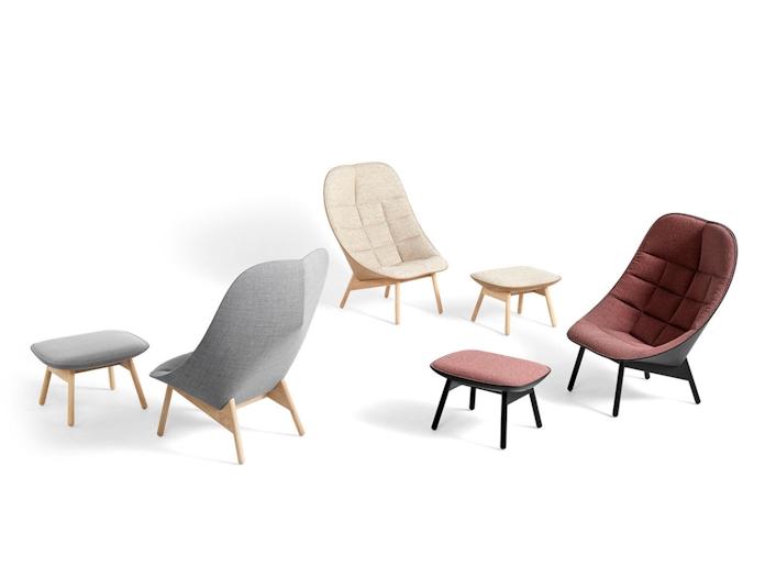 Hay Uchiwa Lounge Chairs 4 Doshi Levien