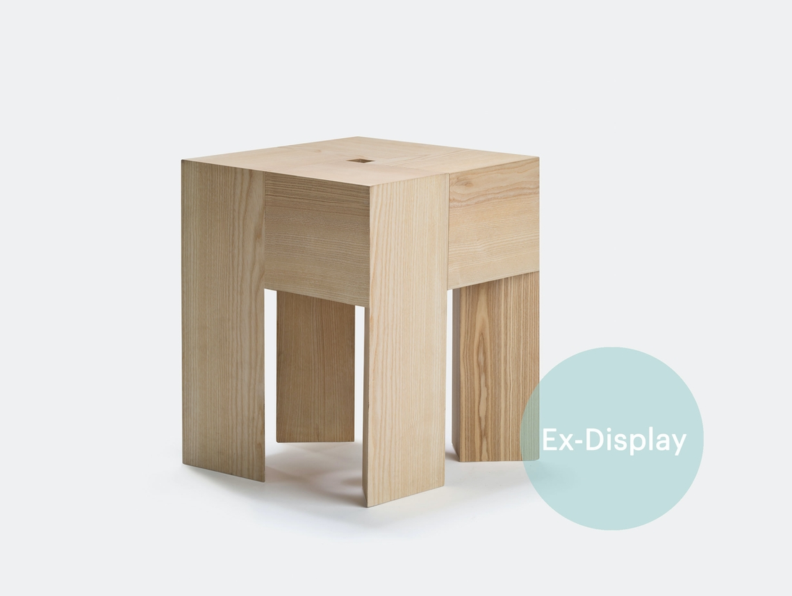 Karakter Tri Angle Stool Side Table Aldo Bakker ex display