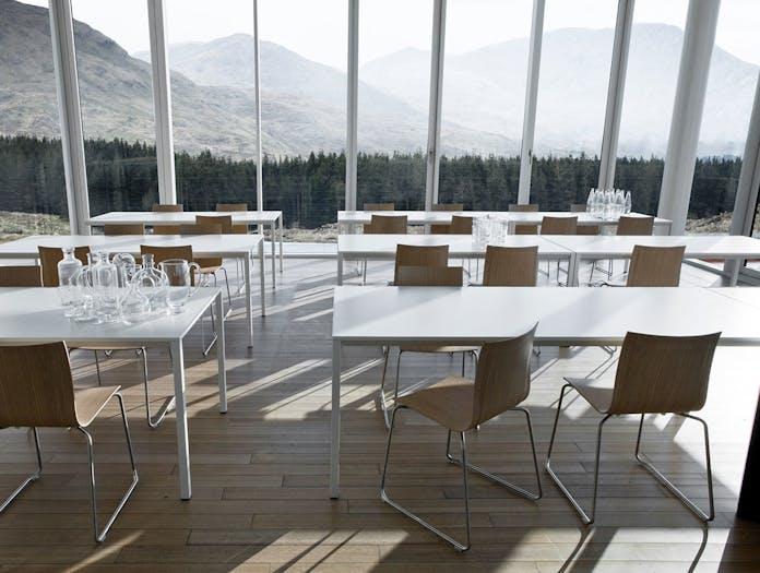 Lapalma Frame Table restaurant Romano Marcato
