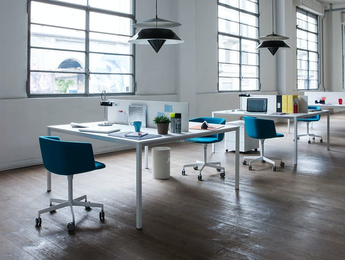 Lapalma Frame Table white desks Romano Marcato