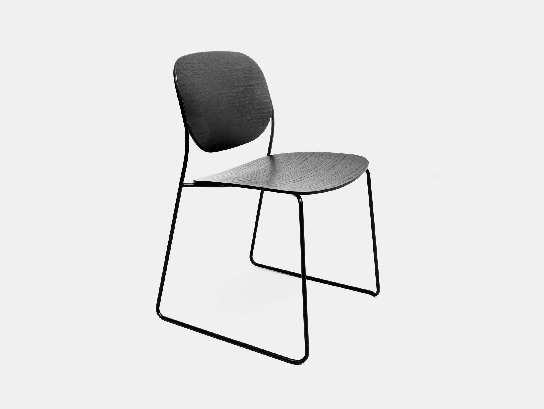Lapalma Olo Chair black Francesco Rota