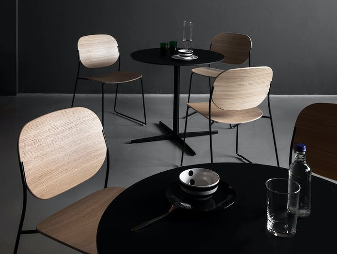Lapalma Olo Chair oak detail Francesco Rota