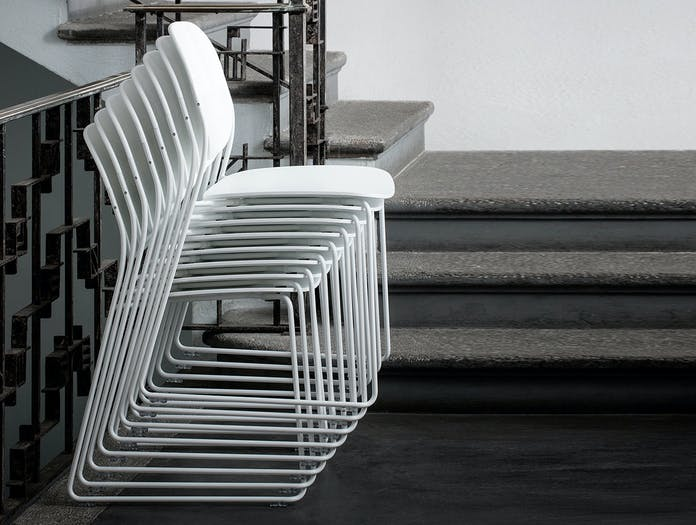 Lapalma Olo Chair stacking Francesco Rota