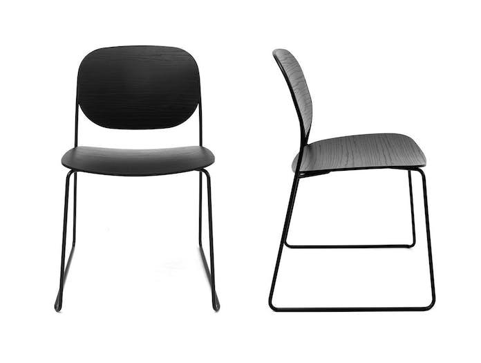 Lapalma Olo Chairs black Francesco Rota
