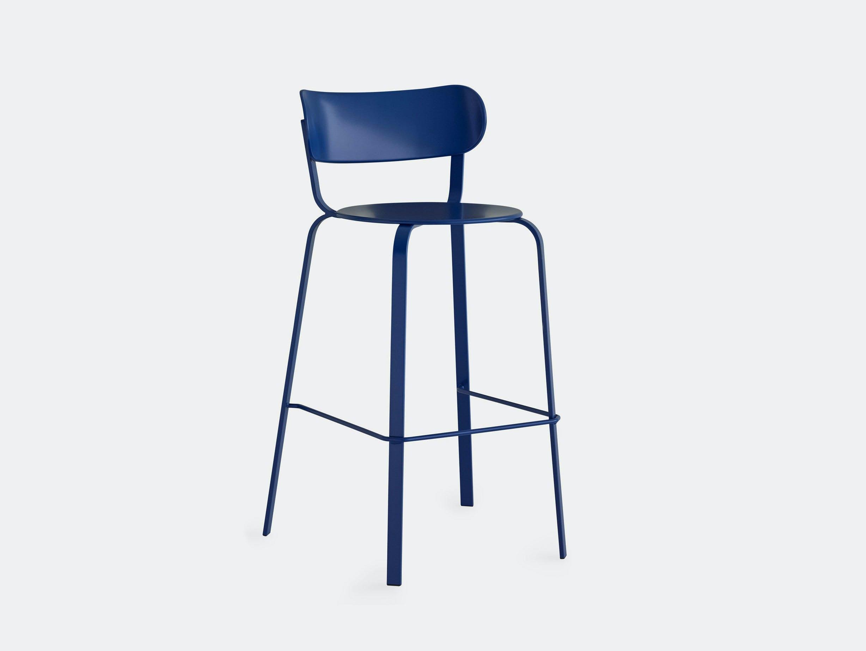 Lapalma Stil stool blue Patrick Norguet