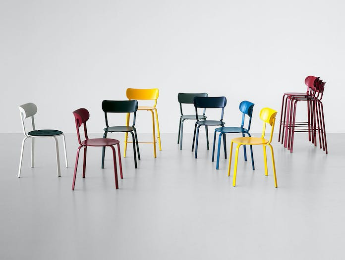 Lapalma Stil stool chair collection Patrick Norguet
