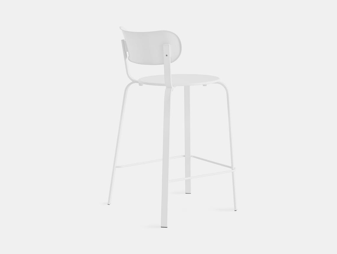 Lapalma Stil stool white Patrick Norguet
