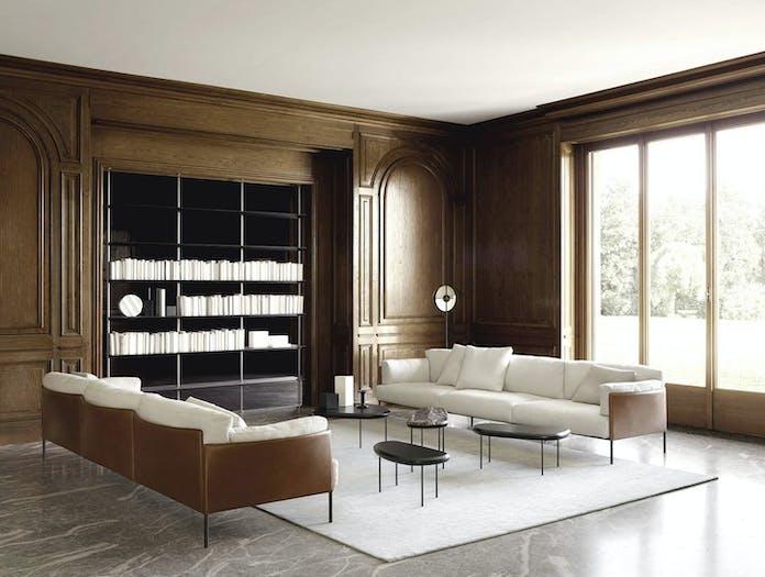 Living Divani greene sofa 1