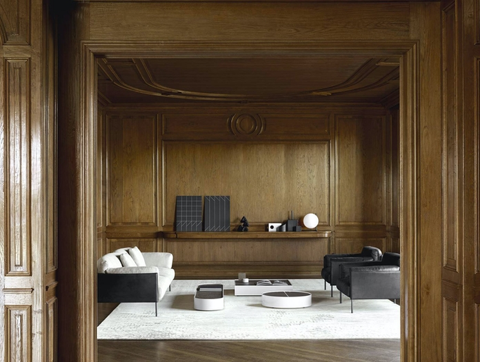 Living Divani greene sofa 3