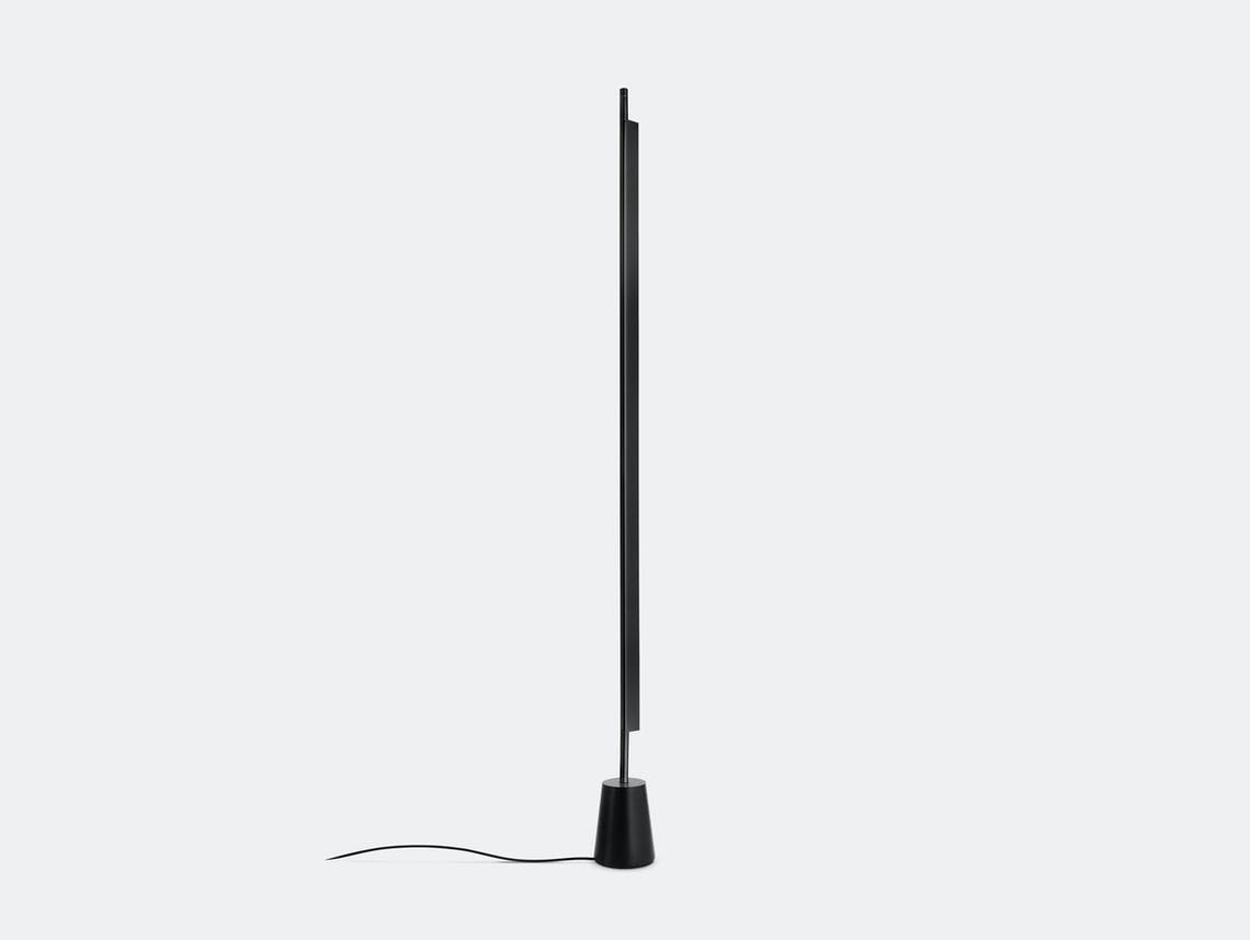Luceplan Compendium Floor Light Black Daniel Rybakken