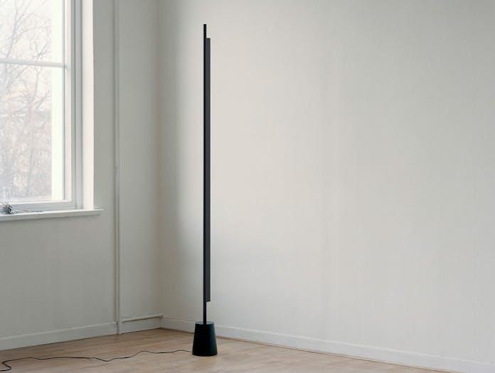 Luceplan Compendium Floor Light Black off Daniel Rybakken