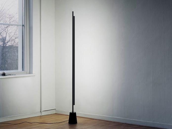 Luceplan Compendium Floor Light Black on Daniel Rybakken
