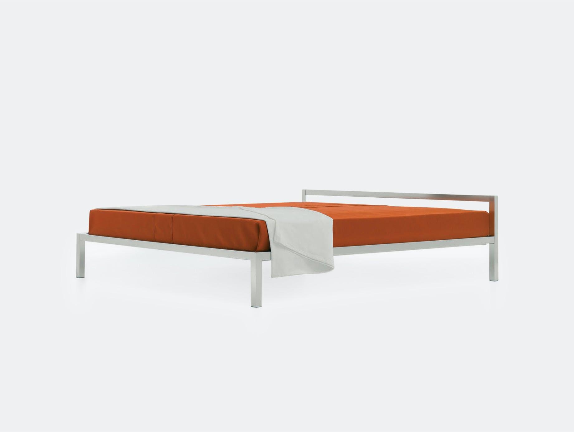 MDF Italia Aluminium Bed Bruno Fattorini