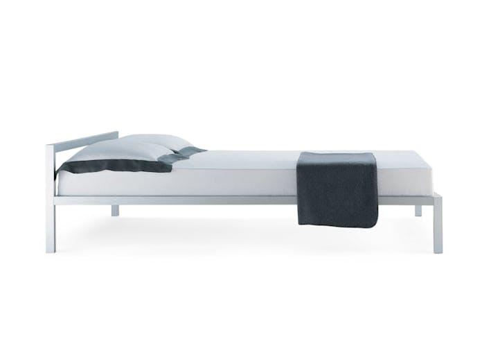 MDF Italia Aluminium Bed anodised Bruno Fattorini