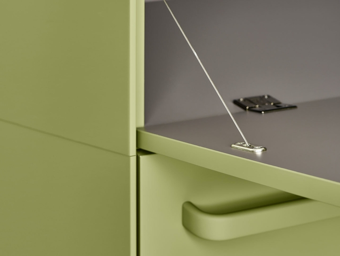 MDF Italia Handle Sideboard detail 2 Bruno Fattorini