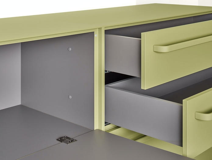 MDF Italia Handle Sideboard detail 3 Bruno Fattorini
