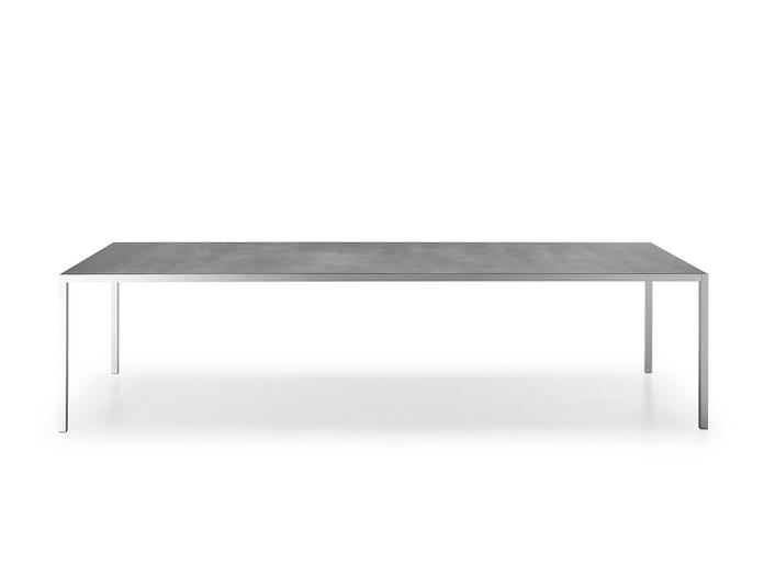 MDF Italia LIM 3 0 Table medium grey ceramic top 2 Bruno Fattorini