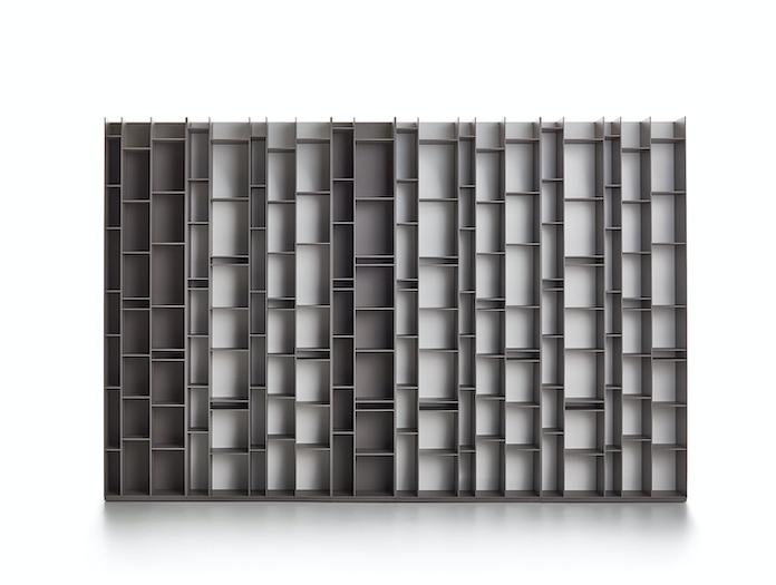 MDF Italia Random Shelves grey Neuland Industriedesign