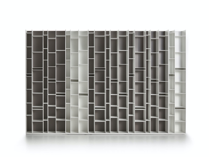 MDF Italia Random Shelves grey white Neuland Industriedesign
