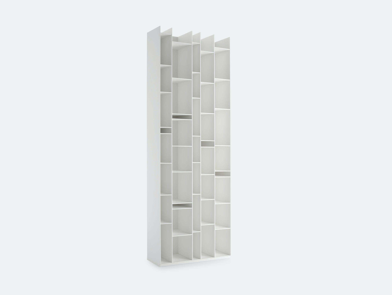 MDF Italia Random Shelves white Neuland Industriedesign