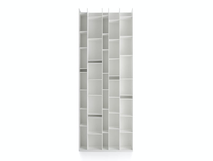 MDF Italia Random Shelves white fr Neuland Industriedesign