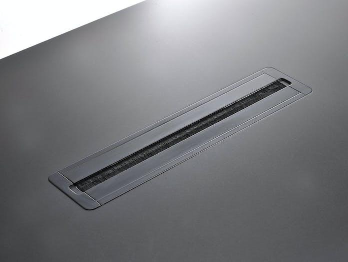 MDF Italia Tense Table System cable slot closed Piergiorgio Cazzaniga