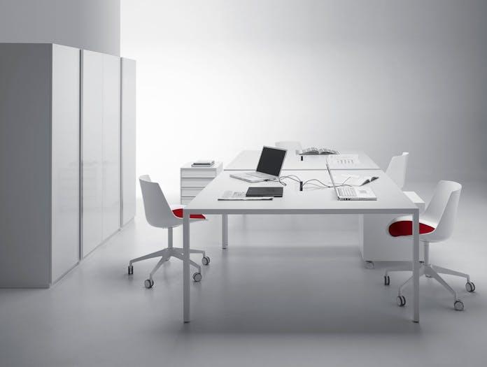 MDF Italia Tense Table System desks Piergiorgio Cazzaniga